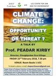 Poster Peadar Kirby Feb 22